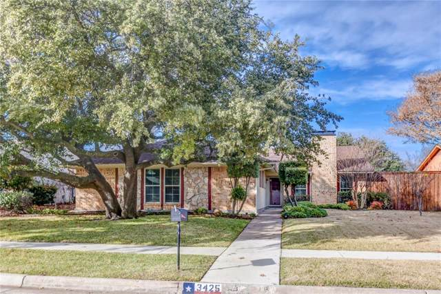 3425 Newkirk Drive, Plano, TX 75075 (MLS #14238226) :: Real Estate By Design