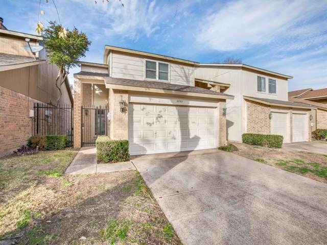 2853 Ursa Circle, Garland, TX 75044 (MLS #14238472) :: The Chad Smith Team