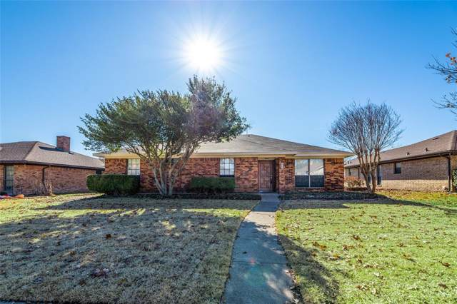 1504 Meadowgate Drive, Richardson, TX 75081 (MLS #14238632) :: The Good Home Team