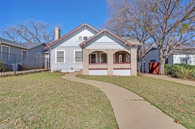 3712 Mattison Avenue, Fort Worth, TX 76107 (MLS #14238634) :: Team Tiller