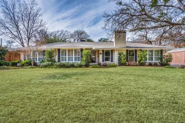 6129 Preston Haven Drive, Dallas, TX 75230 (MLS #14238680) :: Ann Carr Real Estate