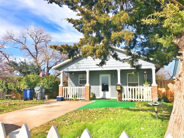 1911 Gallagher Street, Dallas, TX 75212 (MLS #14238737) :: RE/MAX Town & Country
