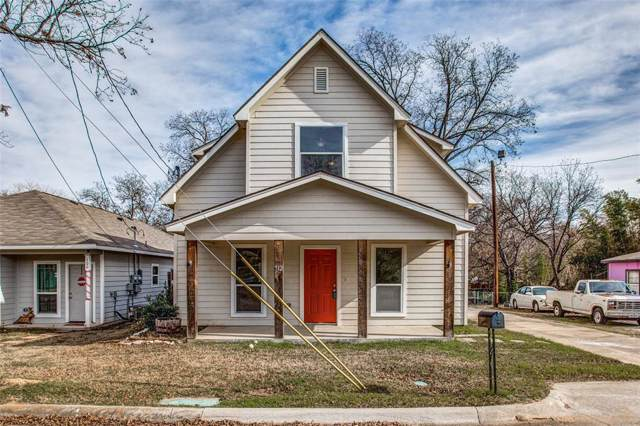 512 Rose Street, Denton, TX 76209 (MLS #14238797) :: The Daniel Team