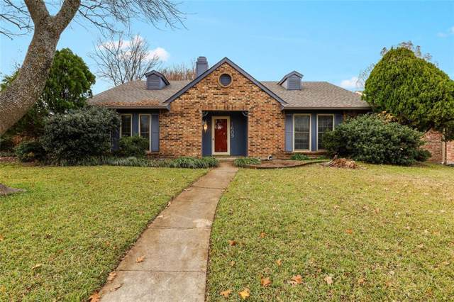 1609 Hutchinson Street, Mesquite, TX 75150 (MLS #14238818) :: All Cities Realty