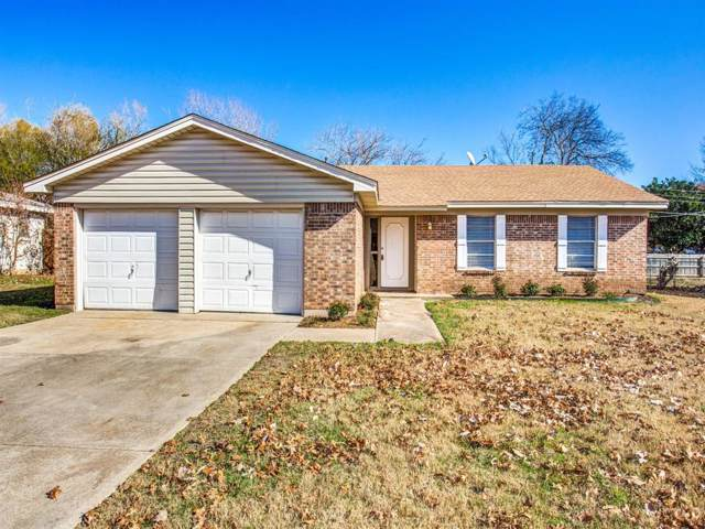 1005 John Reagan Street, Benbrook, TX 76126 (MLS #14238833) :: Team Hodnett