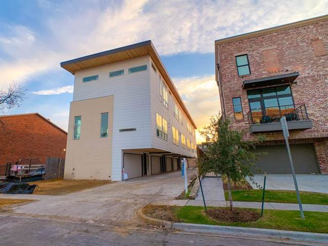 2317 Moser Avenue #101, Dallas, TX 75206 (MLS #14238854) :: All Cities Realty
