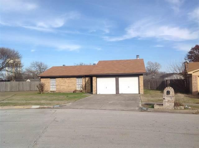 1044 Meadowview Drive, Saginaw, TX 76179 (MLS #14238886) :: Tenesha Lusk Realty Group