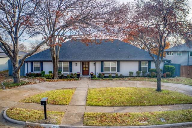 203 Fall Creek Drive, Richardson, TX 75080 (MLS #14238912) :: Tenesha Lusk Realty Group