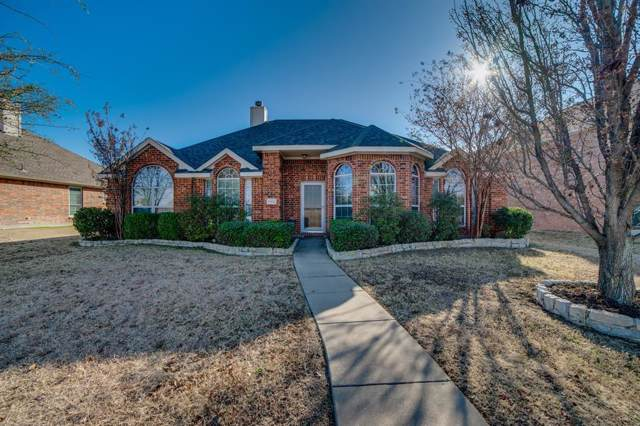 1102 Camelot Drive, Wylie, TX 75098 (MLS #14238948) :: Baldree Home Team