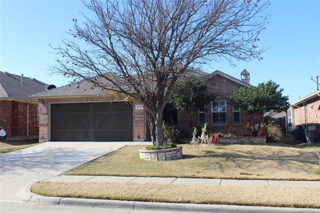 2737 Watercress Drive, Little Elm, TX 75068 (MLS #14238973) :: Van Poole Properties Group