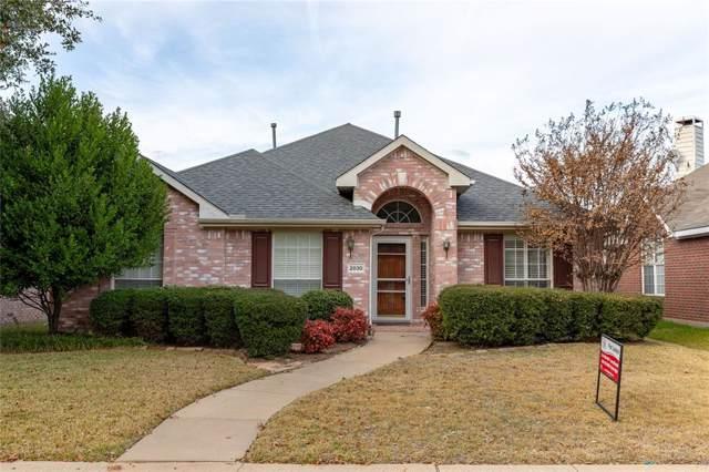 2030 Greenfield Lane, Allen, TX 75013 (MLS #14238987) :: Tenesha Lusk Realty Group