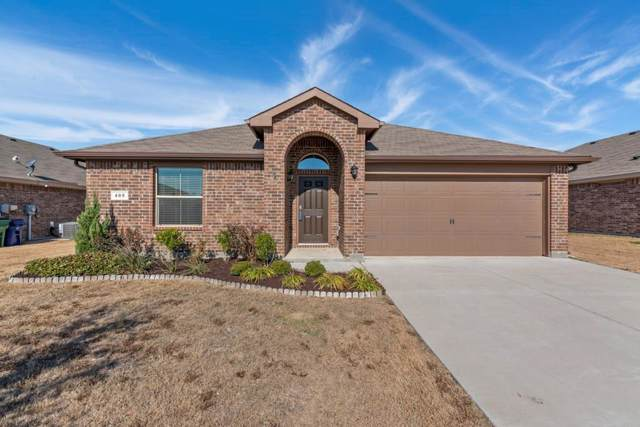 405 Citation Lane, Ponder, TX 76259 (MLS #14238988) :: Van Poole Properties Group