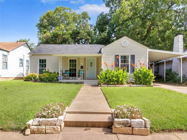 3724 El Campo Avenue, Fort Worth, TX 76107 (MLS #14238993) :: The Mitchell Group