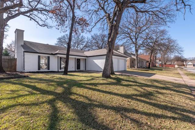 408 Thorn Wood Drive, Euless, TX 76039 (MLS #14239038) :: The Hornburg Real Estate Group