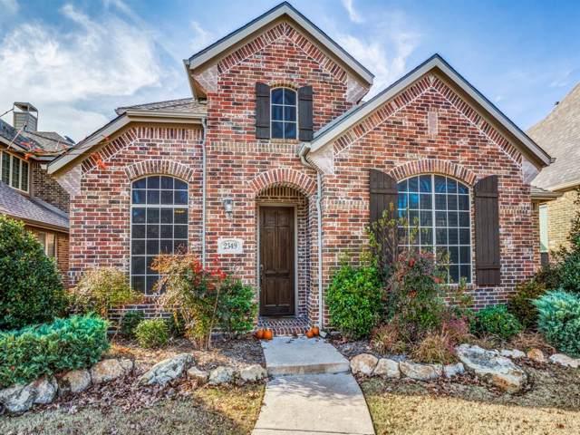 2349 Palazzo Lane, Allen, TX 75013 (MLS #14239065) :: The Kimberly Davis Group