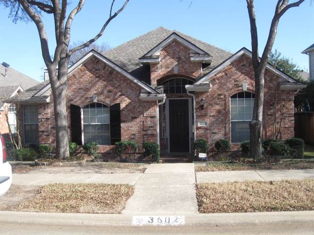 3602 Christopher Lane, Richardson, TX 75082 (MLS #14239076) :: Vibrant Real Estate