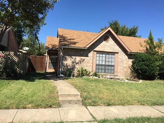 4416 Chapman Street, The Colony, TX 75056 (MLS #14239146) :: The Real Estate Station