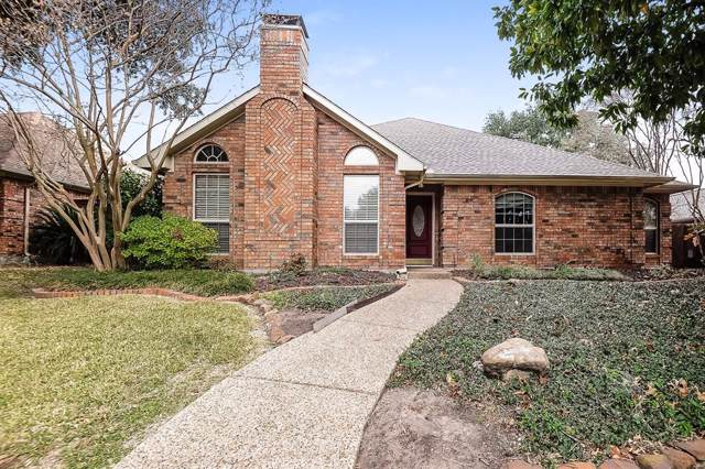 1214 Stillwater Trail, Carrollton, TX 75007 (MLS #14239253) :: The Hornburg Real Estate Group