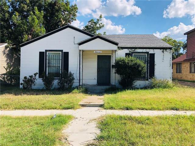 3612 Avenue I, Fort Worth, TX 76105 (MLS #14239330) :: The Hornburg Real Estate Group