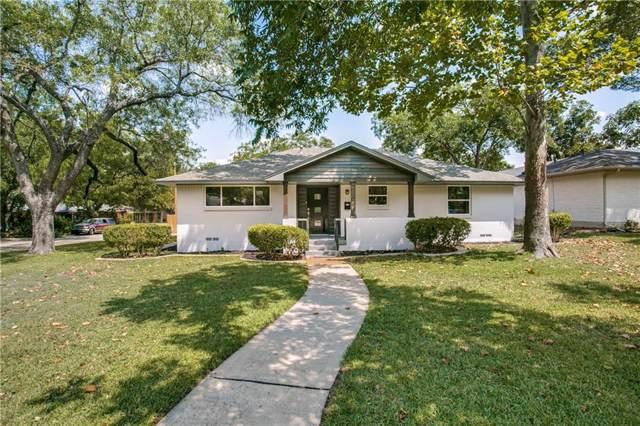 3806 Periwinkle Drive, Dallas, TX 75233 (MLS #14239401) :: The Kimberly Davis Group