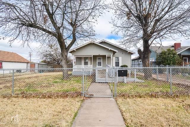 141 Meander Street, Abilene, TX 79602 (MLS #14239405) :: Maegan Brest | Keller Williams Realty