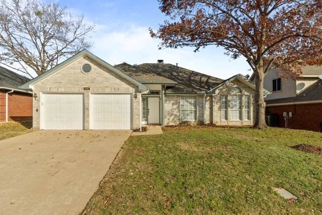 408 Canterbury Street, Euless, TX 76039 (MLS #14239411) :: All Cities Realty