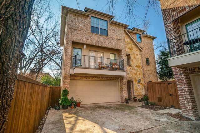 6006 Oram Street C, Dallas, TX 75206 (MLS #14239469) :: Ann Carr Real Estate