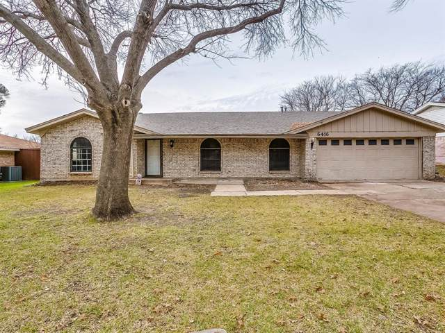 6416 Ponce Avenue, Fort Worth, TX 76133 (MLS #14239602) :: The Chad Smith Team