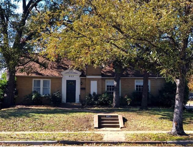 803 S Edgefield Avenue, Dallas, TX 75208 (MLS #14239786) :: The Mitchell Group
