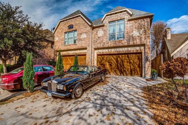5117 Vickery Boulevard, Dallas, TX 75206 (MLS #14239794) :: Ann Carr Real Estate
