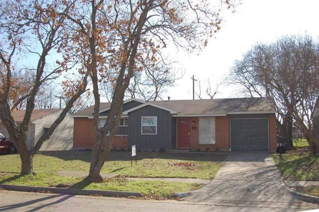 706 Wren Avenue, Duncanville, TX 75116 (MLS #14239796) :: Hargrove Realty Group