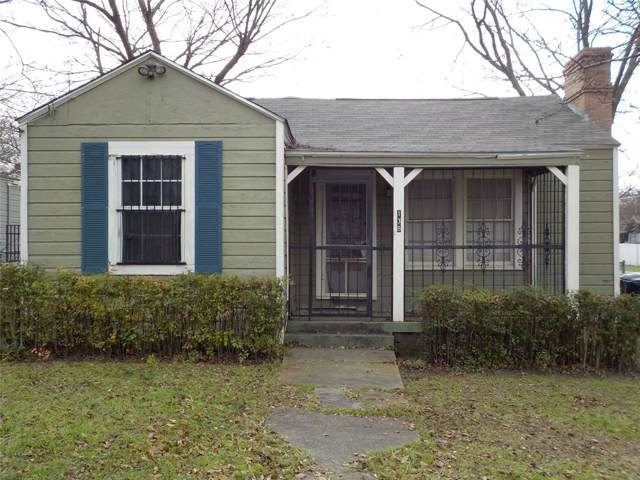 138 W Grover C. Washingon Avenue, Dallas, TX 75224 (MLS #14239807) :: Ann Carr Real Estate
