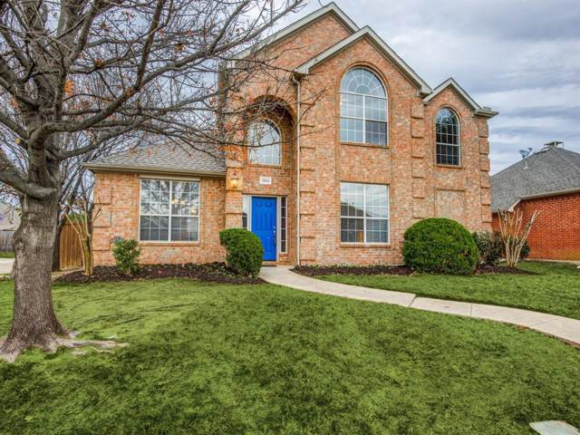 1353 Mustang Drive, Lewisville, TX 75067 (MLS #14239859) :: The Hornburg Real Estate Group