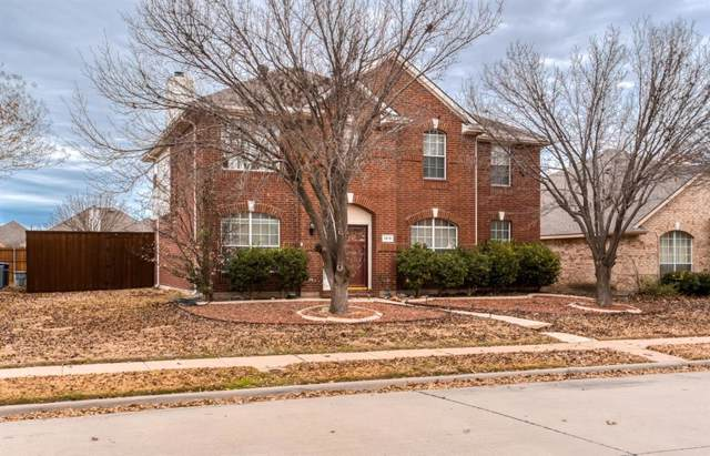 1519 Winding Trail Drive, Allen, TX 75002 (MLS #14239886) :: The Good Home Team