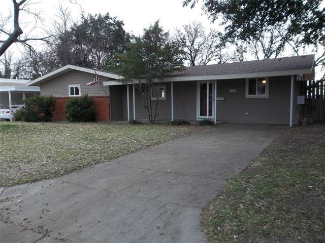 4012 Sanguinet Street, Fort Worth, TX 76107 (MLS #14239947) :: The Heyl Group at Keller Williams