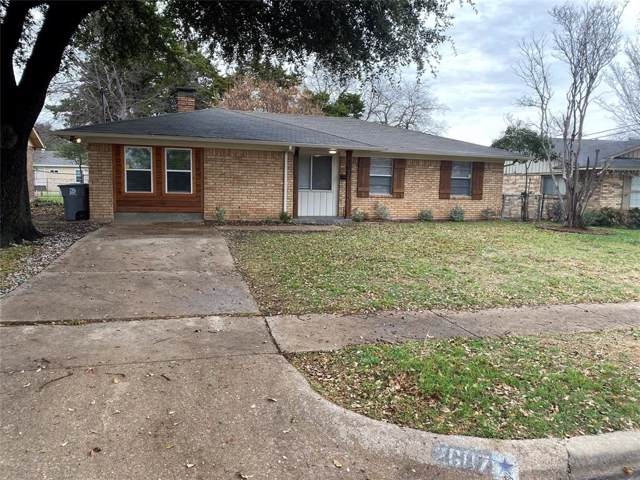 2607 Clearview Circle, Dallas, TX 75233 (MLS #14240070) :: The Hornburg Real Estate Group