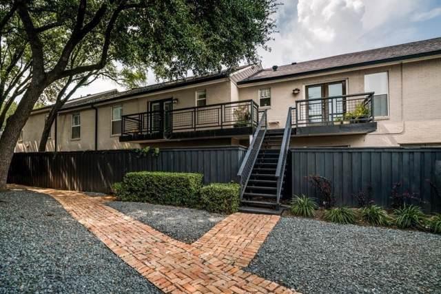 7736 Meadow Road #203, Dallas, TX 75230 (MLS #14240171) :: Ann Carr Real Estate