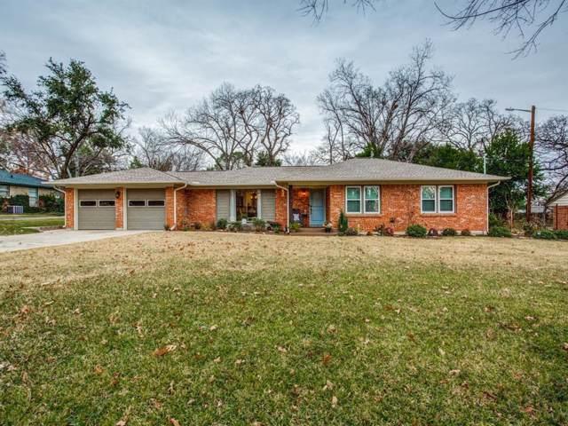 1119 Emerson Lane, Denton, TX 76209 (MLS #14240248) :: 24:15 Realty