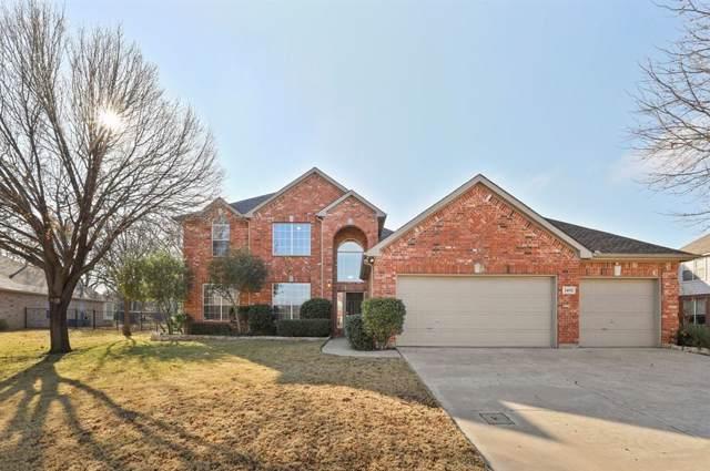 3402 Danbury Circle, Corinth, TX 76208 (MLS #14240405) :: All Cities Realty