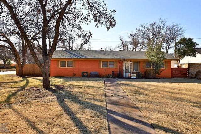 3527 S 20th Street, Abilene, TX 79605 (MLS #14240490) :: Trinity Premier Properties
