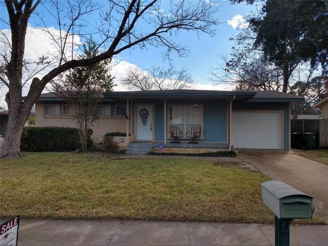 617 Pine Street, Hurst, TX 76053 (MLS #14240516) :: The Hornburg Real Estate Group