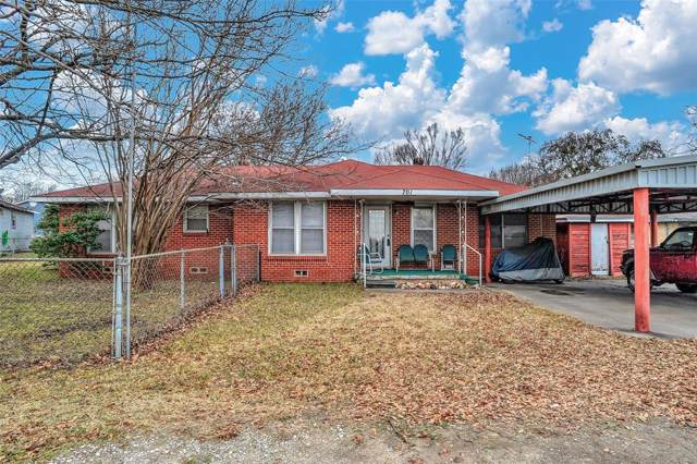 701 N Union Street, Whitesboro, TX 76273 (MLS #14240546) :: The Chad Smith Team