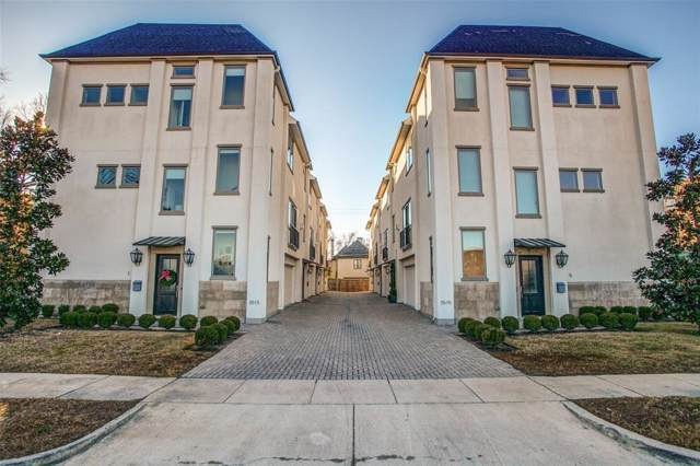 3515 Normandy Avenue #7, Highland Park, TX 75205 (MLS #14240609) :: Robbins Real Estate Group