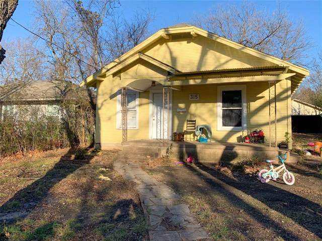 315 N Carr Avenue, Sherman, TX 75090 (MLS #14240676) :: Team Hodnett