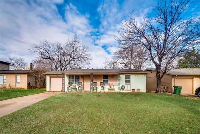 915 Woodbrook Street, Arlington, TX 76011 (MLS #14240683) :: RE/MAX Town & Country