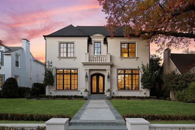4028 Hanover Street, Dallas, TX 75225 (MLS #14240726) :: Robbins Real Estate Group