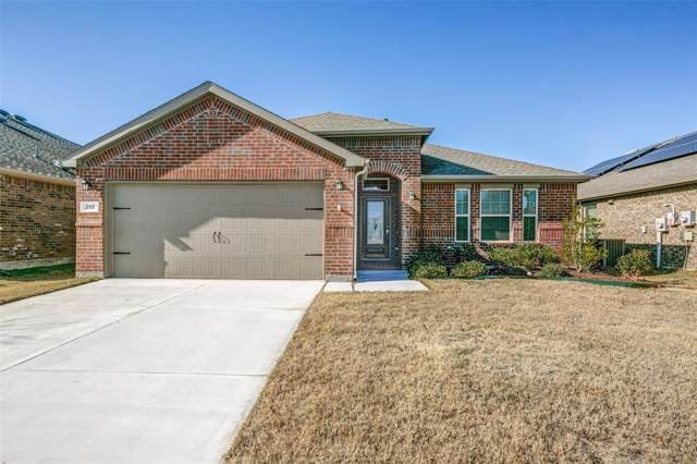 255 Thatcher Drive, Fate, TX 75189 (MLS #14240812) :: The Mitchell Group