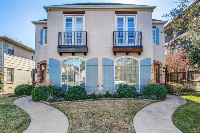4124-26 Hawthorne Avenue, Dallas, TX 75219 (MLS #14240815) :: Baldree Home Team