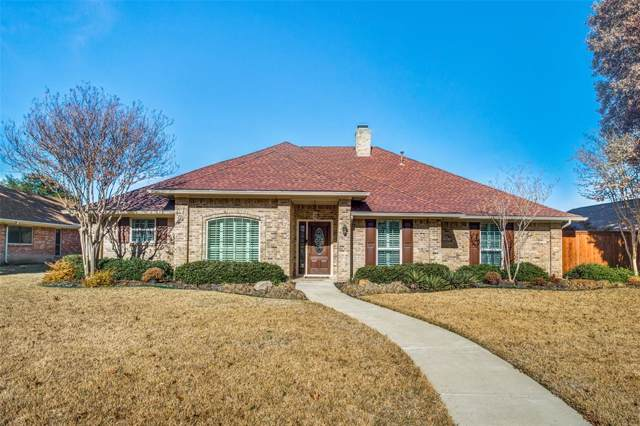 2337 Tamarisk Lane, Plano, TX 75023 (MLS #14240907) :: The Good Home Team