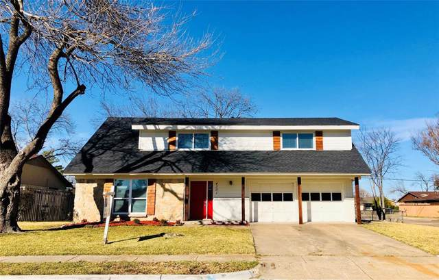 4301 Justice Lane, Garland, TX 75042 (MLS #14241005) :: Baldree Home Team